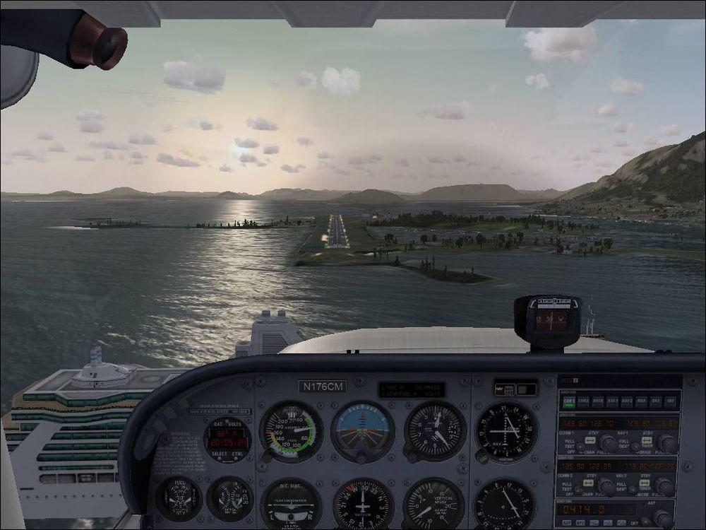 VR vil bidra til at innlevelsen i simulatorer som Flight Sim X vil bli langt kraftigere.