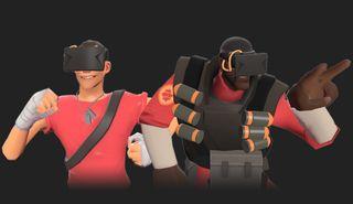 Et av de første spillene med Oculus Rift-støtte var Team Fortress 2, og ble et godt eksempel på at skytespill ikke nødvendigvis blir bedre i VR.