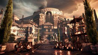 Å besøke romerriket mens imperiet var på topp er bare en av mange muligheter med VR. Bildet er fra spillet Ryse: Son of Rome.
