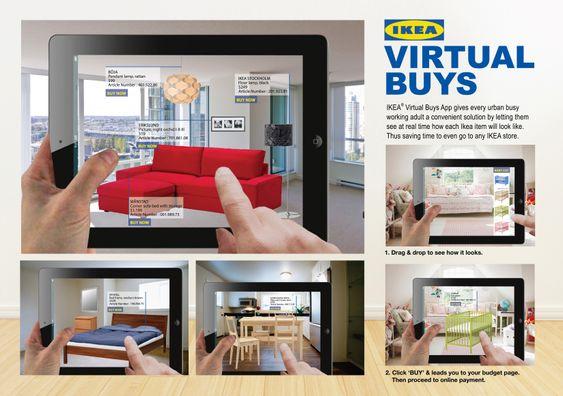 Ikea har lekt med en augmented reality-versjon av katalogen sin alt. .