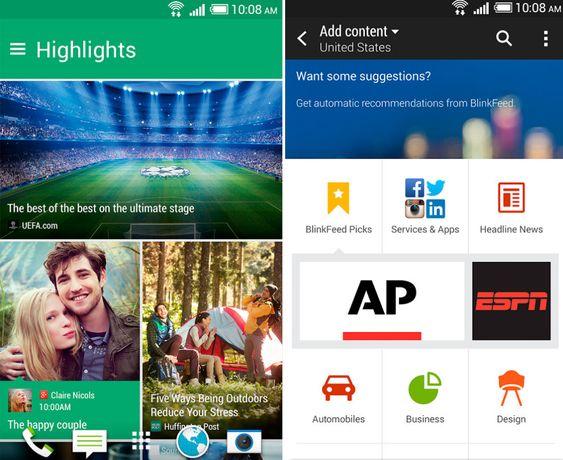 Nye Blinkfeed ligger nå også som nedlasting på Google Play, men foreløpig kun for HTC-mobiler.