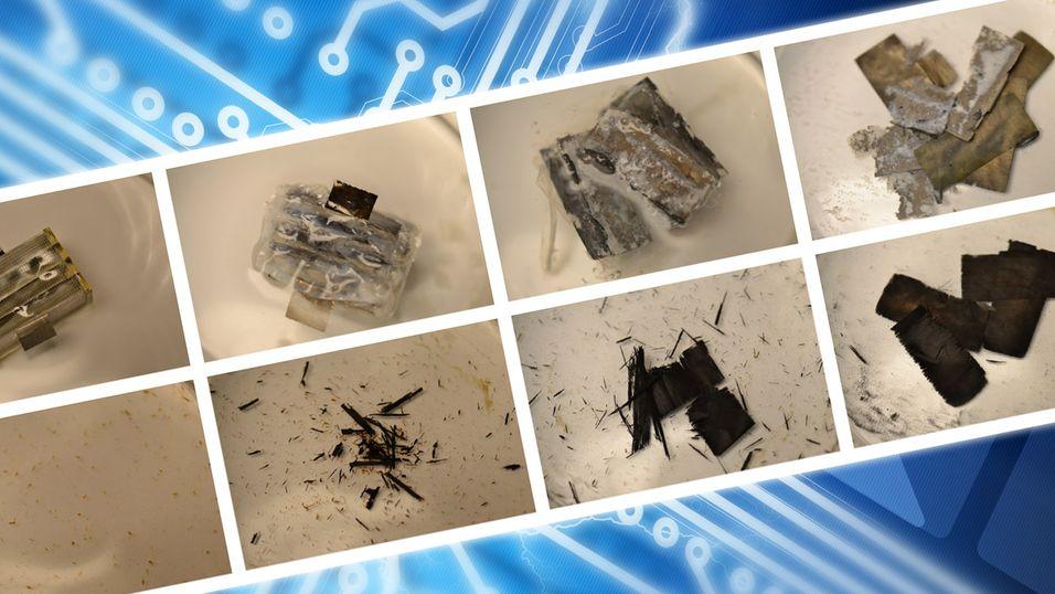 Nedbrytbart batteri kan drive sensorer i kroppen