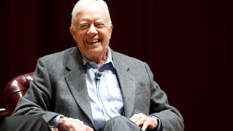 Jimmy Carter blir nok ganske glad når denne nyheten når han.