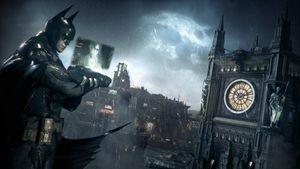 Å skue ned fra Gothams hustak gjennom Batmans øyne virker ulidelig tøft.
