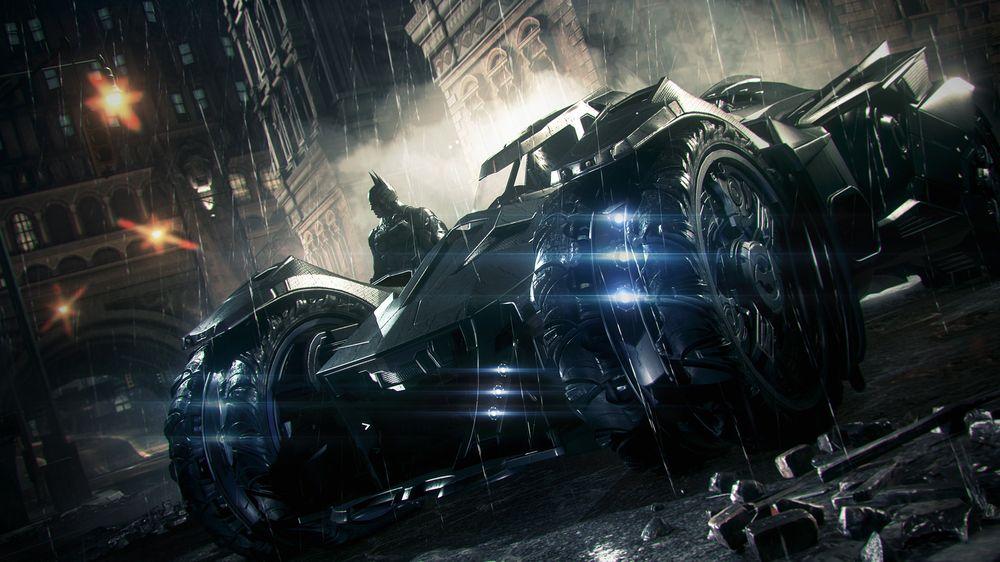 Batmobilen blir bare tøffere og tøffere.
