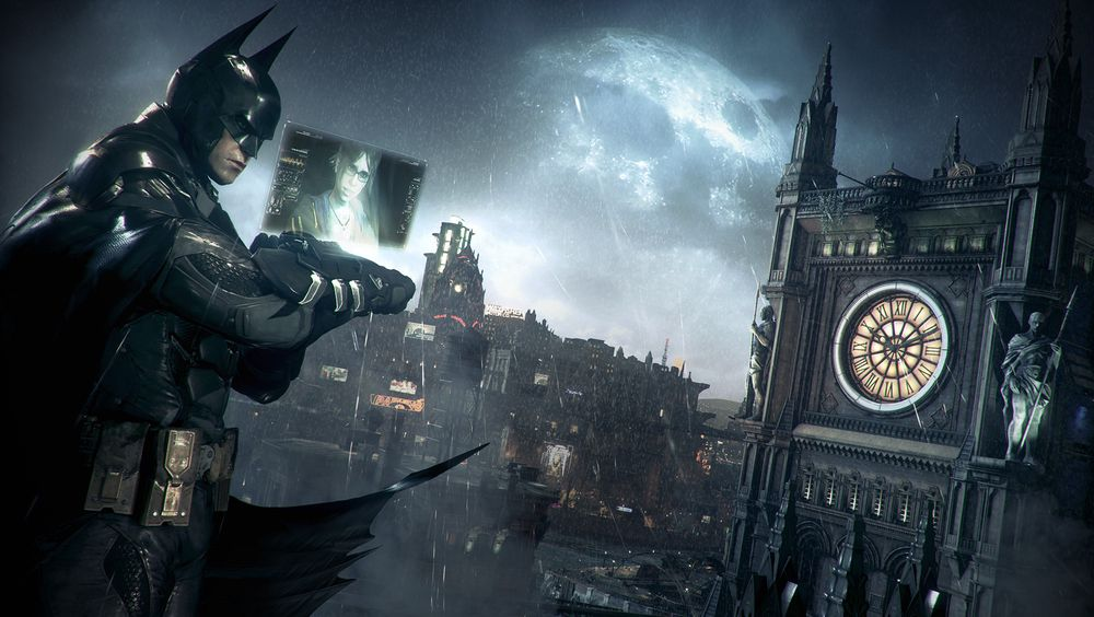 SNIKTITT: Batman: Arkham Knight
