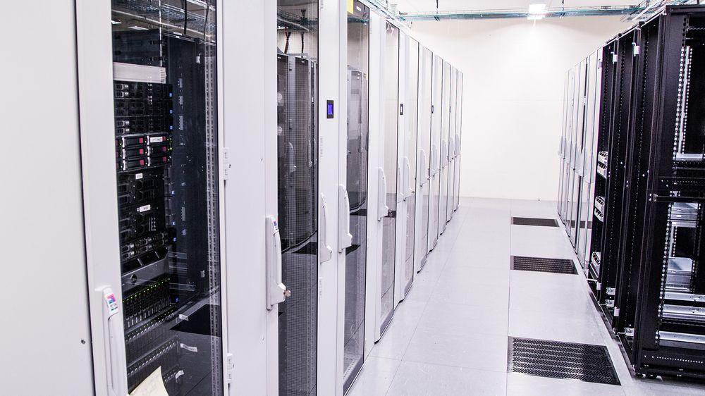Et ukjent antall petabyte – altså millioner av gigabyte – med værdata er lagret hos Meteorologisk Institutt.