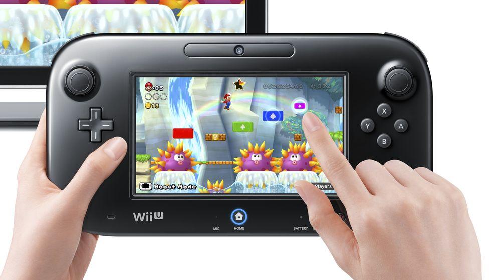 Det meste på Wii U styres med denne GamePad-en. De aller fleste spill lar deg også fortsette spilling på den alene, dersom noen andre i huset trenger TV-en.
