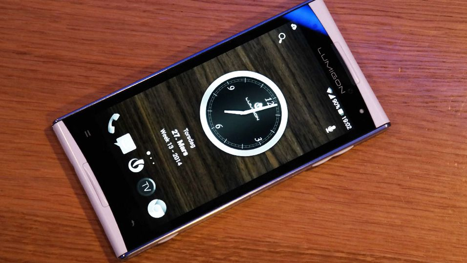 Lumigon T2 HD er en eksklusiv mobiltelefon.