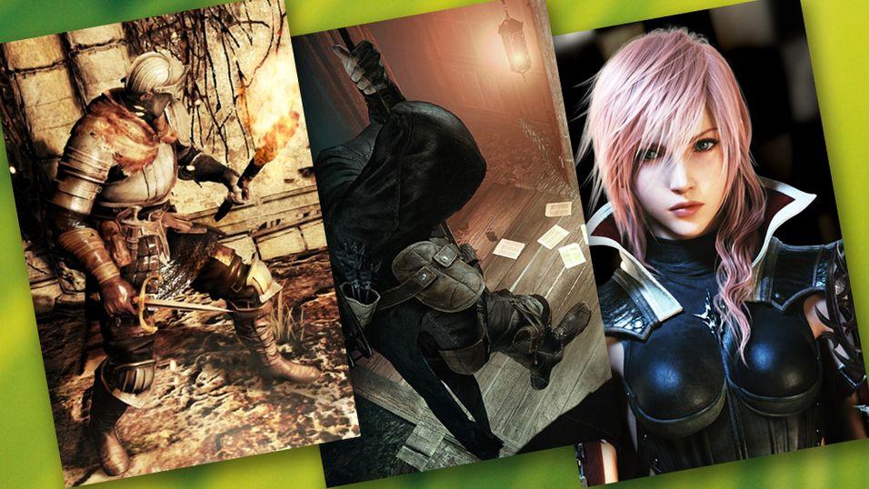 KONKURRANSE: Vinn tre flotte spill til valgfri plattform