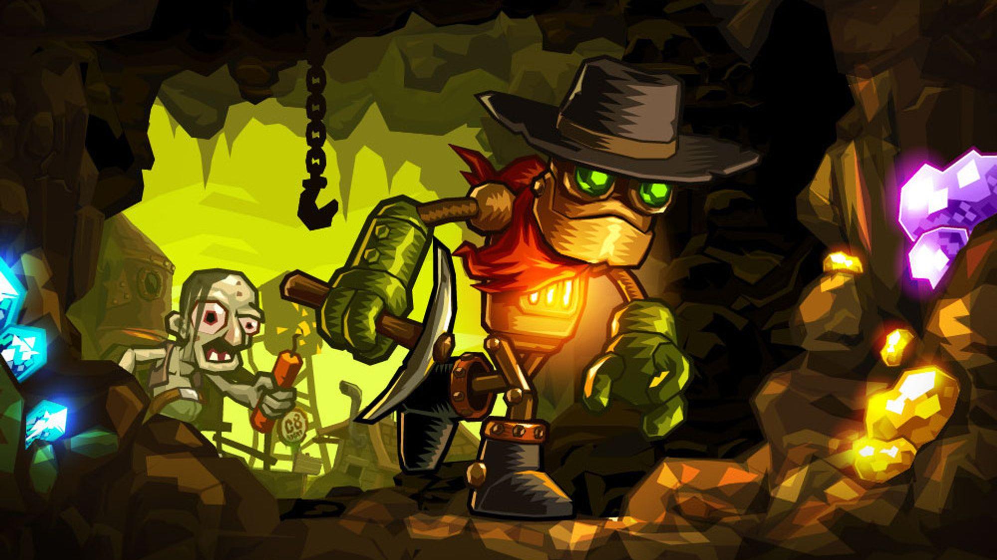 ANMELDELSE: Steamworld Dig