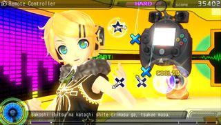 Rin Kagamine, en av to søsken som også gjør opptredener i spillet.