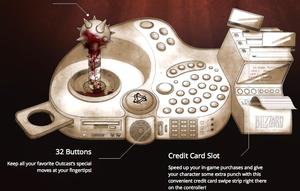 Blizzards «Flawless Control» har innebygget kortterminal.
