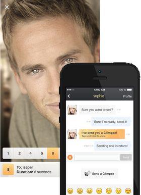 Med Glimpse-funksjonen kan du sende bilder med kort varighet – som i Snapchat.