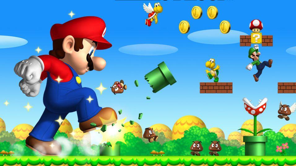Mario er sint nå.