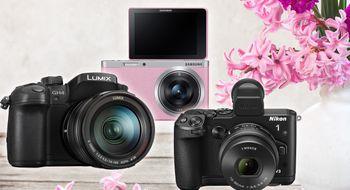 Her er kameraene som kommer i april