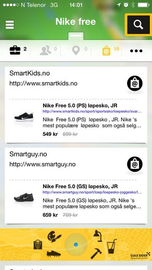 Gule sider vil gi brukerne produktsøk.