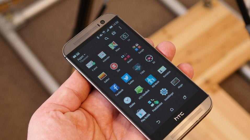 Nå har Lollipop kommet til HTCs toppmodell M8