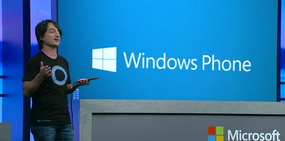 Joe Belfiore under presentasjonen av Windows Phone 8.1.