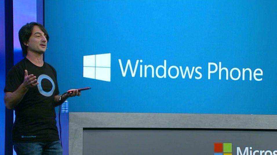 Microsoft har lansert Windows Phone 8.1