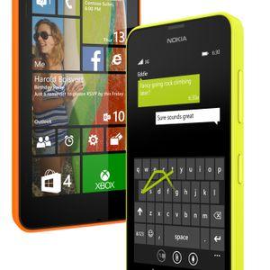 Nokia Lumia 630 er den enkleste av billigmodellene.
