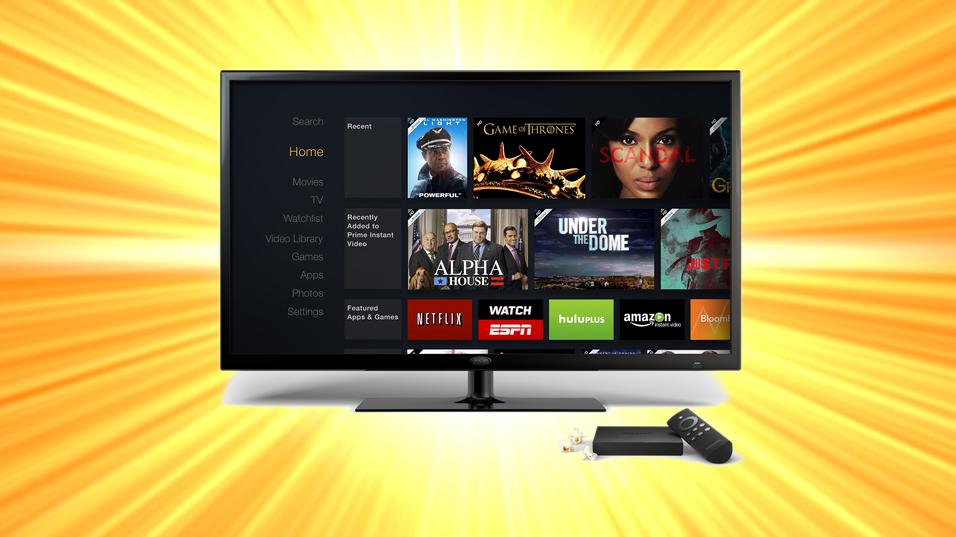 Nettkjempen Amazon har lansert Apple TV-konkurrent