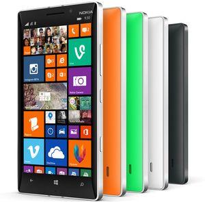 Nokia Lumia 930 kommer i mange farger.