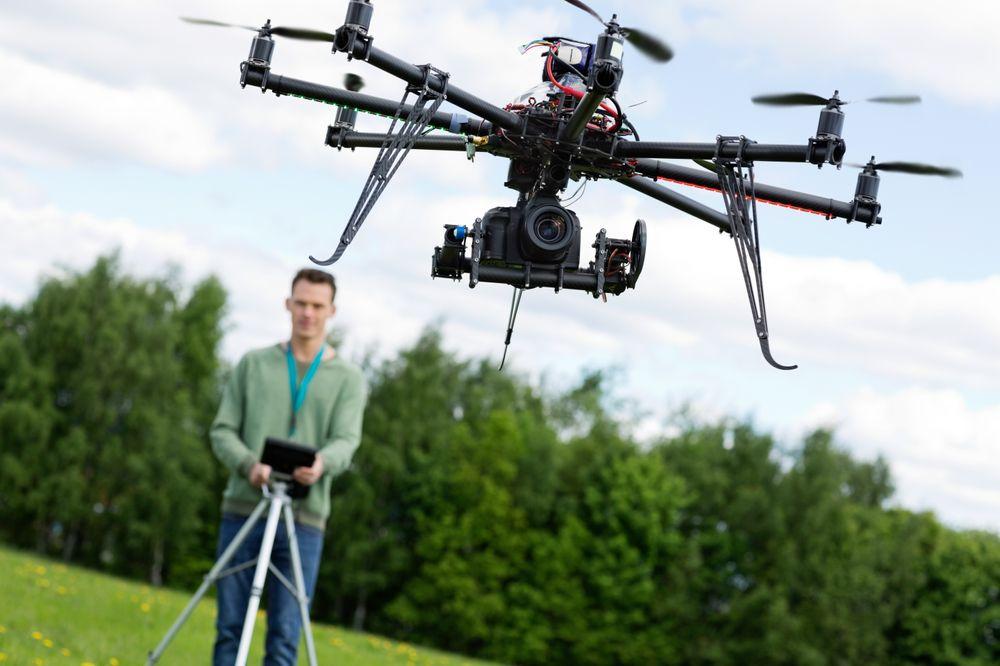 Droner blir stadig mer populære.