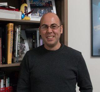 Greg Kasavin er ansvarlig for alt som har med det narrative i studioet.