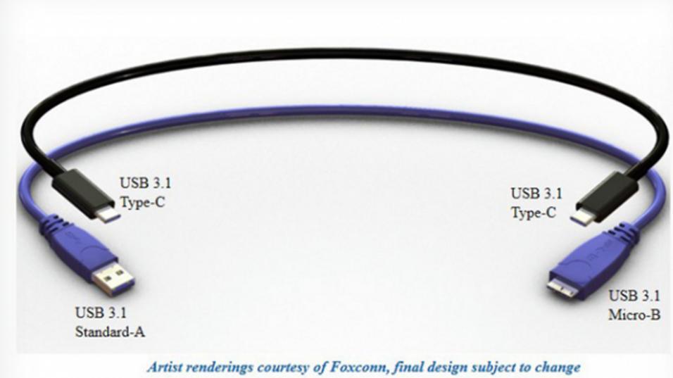 Her er den nye USB-kontakten som går begge veier