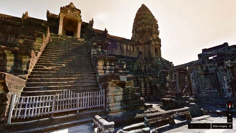 Klikk deg på besøk til Angkor Wat