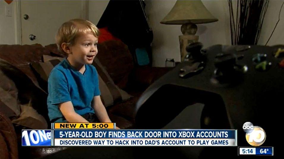 5-åring fant sikkerhetshull på Xbox One