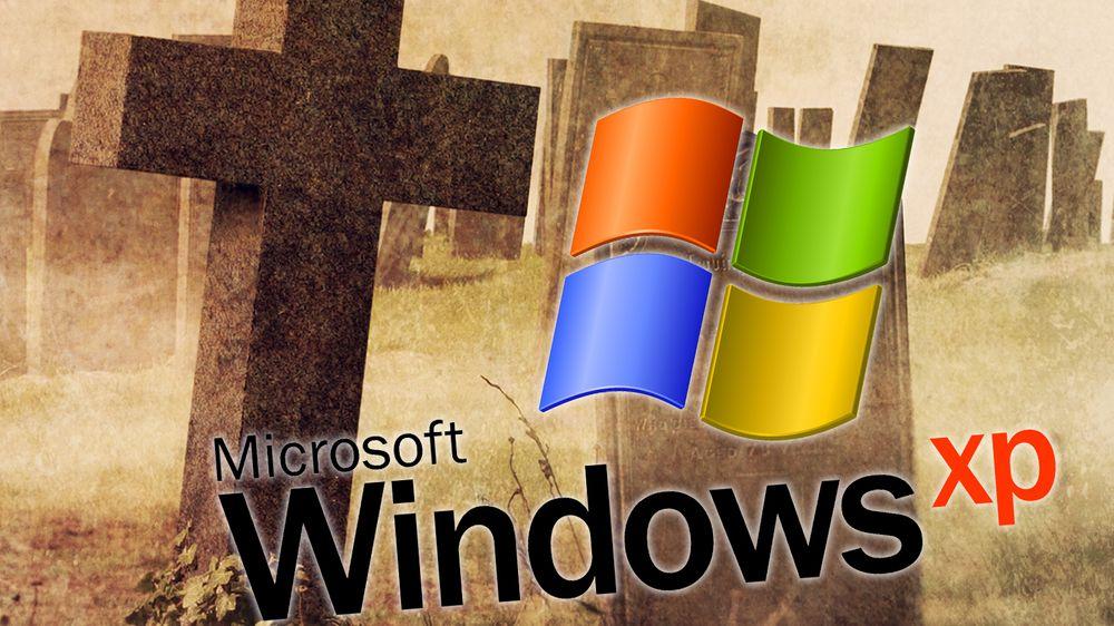 Nå har Windows XP fått dødsstøtet