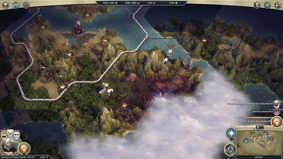 Motstanderen har kastet magi over byen sin, for å skjule den for meg. (bilde: Gamer.no).