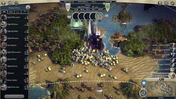 I byene kan du bygge hærer og bygninger. (bilde: Gamer.no.