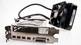 AMD Radeon R9 295X2 kommer velutstyrt med Mini DisplayPort-utganger. Det er tydelig at AMD sikter seg inn på de som vil kjøre mange skjermer av gangen.