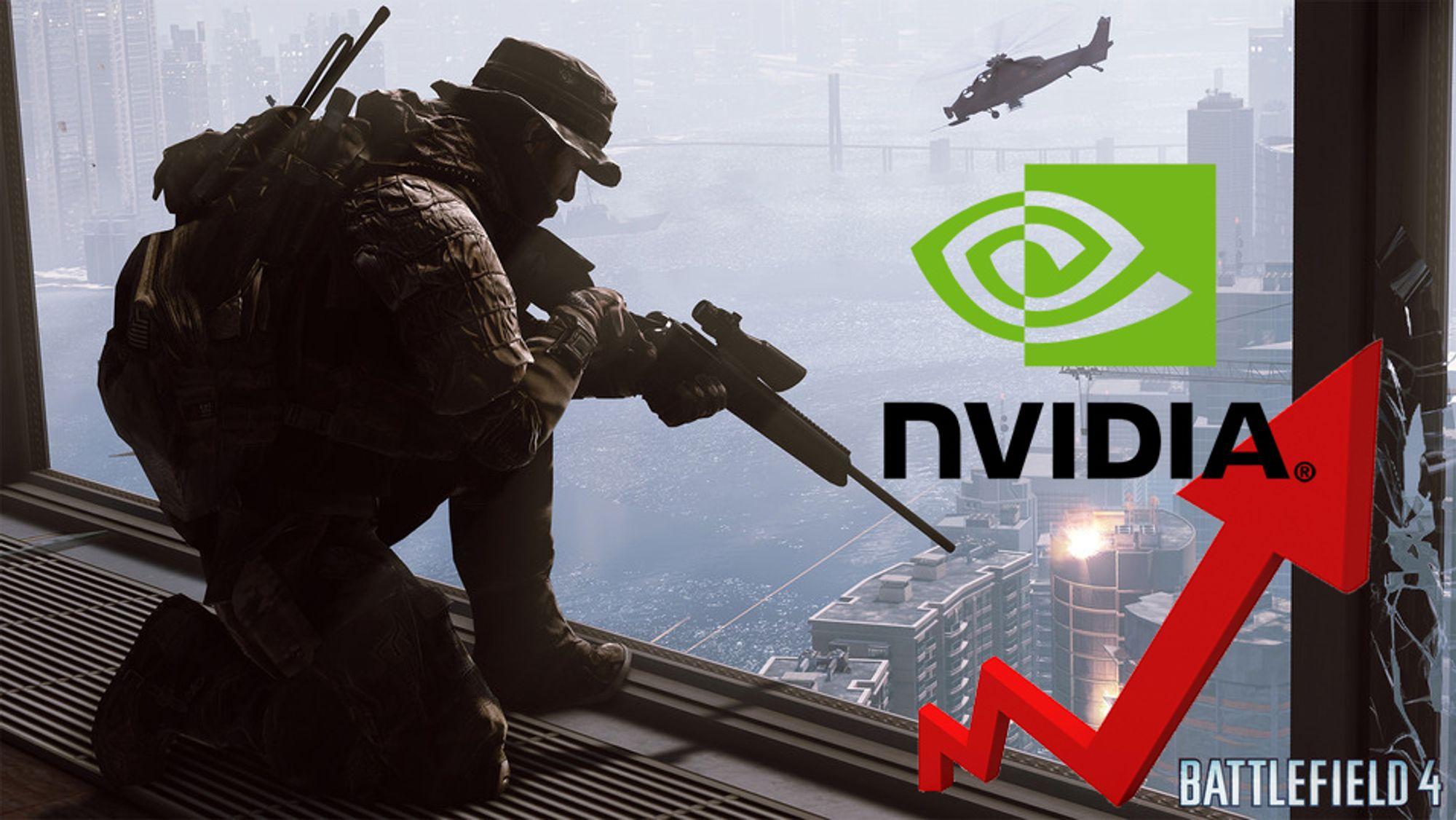Nye drivere lover bedre ytelse, blant annet i Battlefield 4