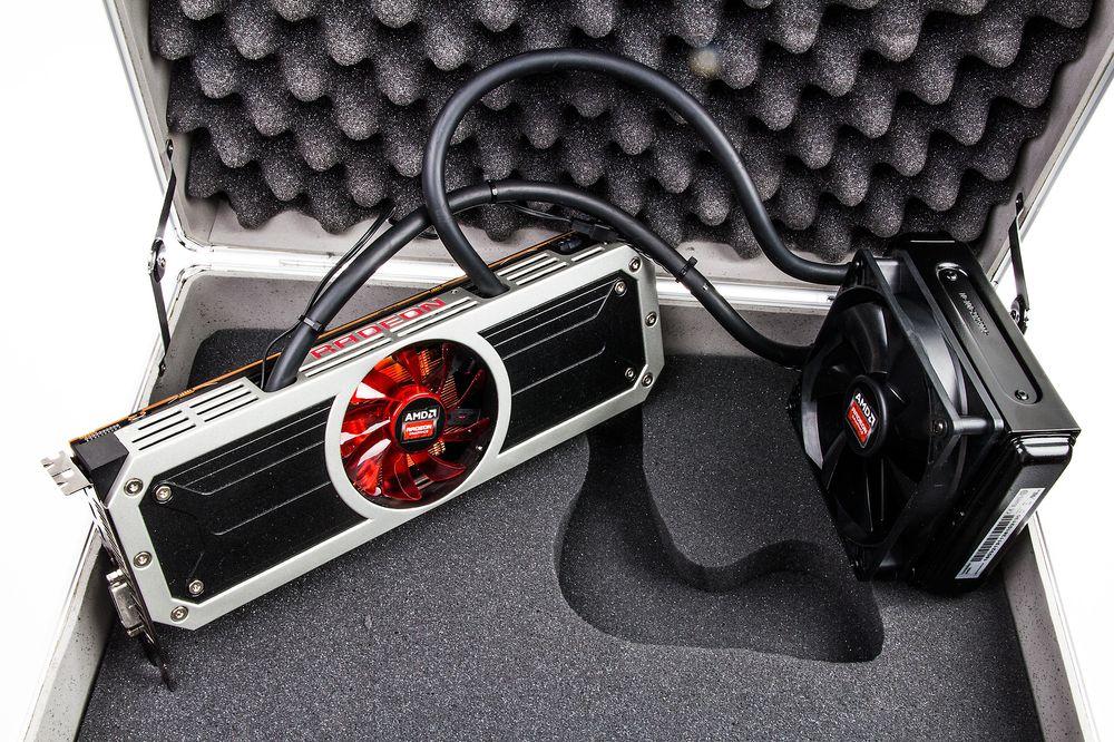 AMD Radeon R9 295X.