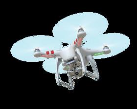 Den nye kameradronen Phantom 2 Vision+.