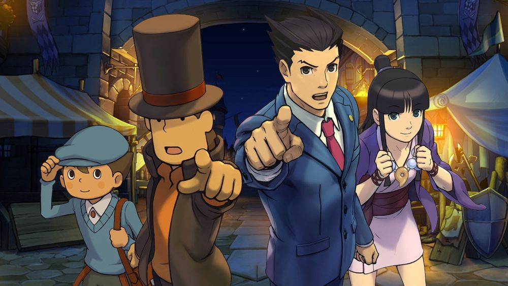 ANMELDELSE: Professor Layton vs. Phoenix Wright: Ace Attorney