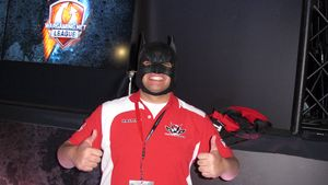 Alvin «Batman» Nunez Urbiztondo ble kåret til turneringens mest verdifulle spiller.