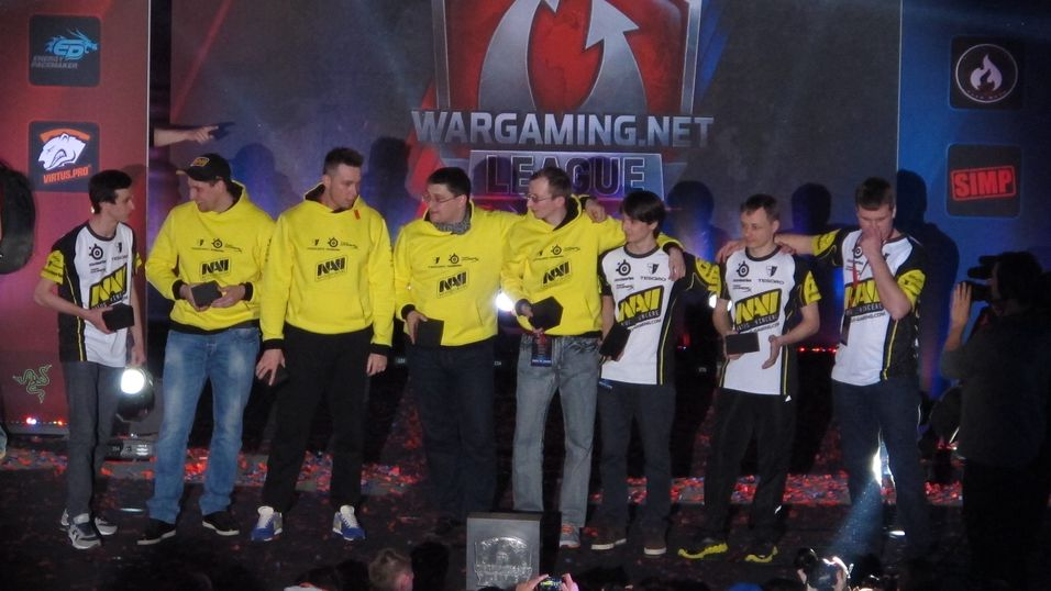 Na'Vi vant World of Tanks-finalen.