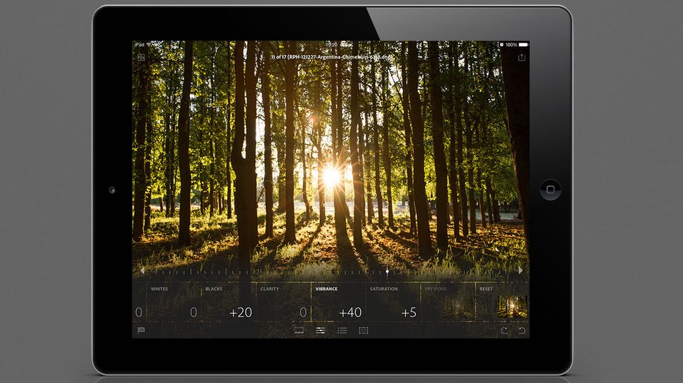 Nå får du Adobe Lightroom til iPad-en