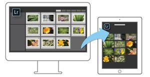 Endringer du gjør på PC-en synkroniseres over til iPad-en, og motsatt.