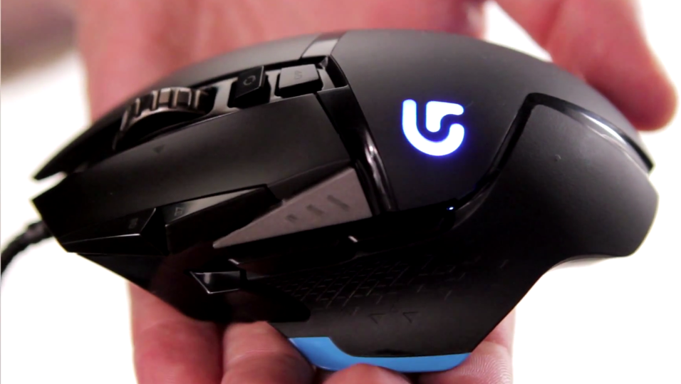 Logitech G502 Proteus Core Tunable Gaming Mouse.