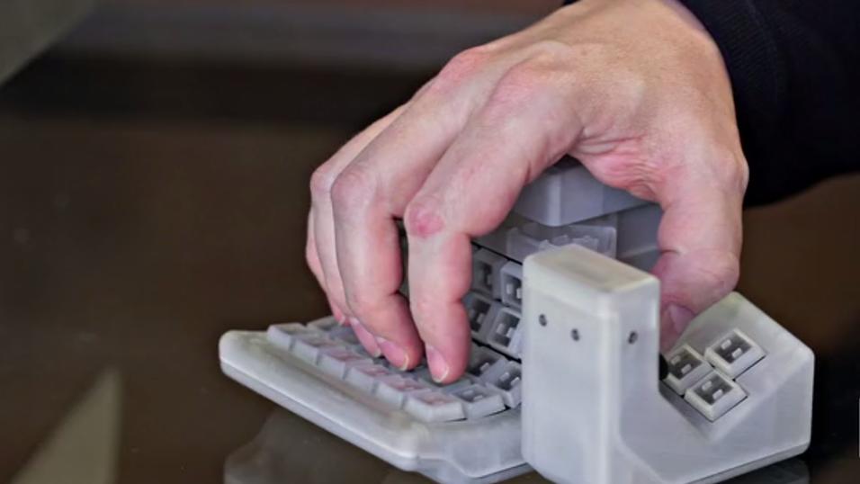 Nytt tastaturkonsept tar av på Kickstarter