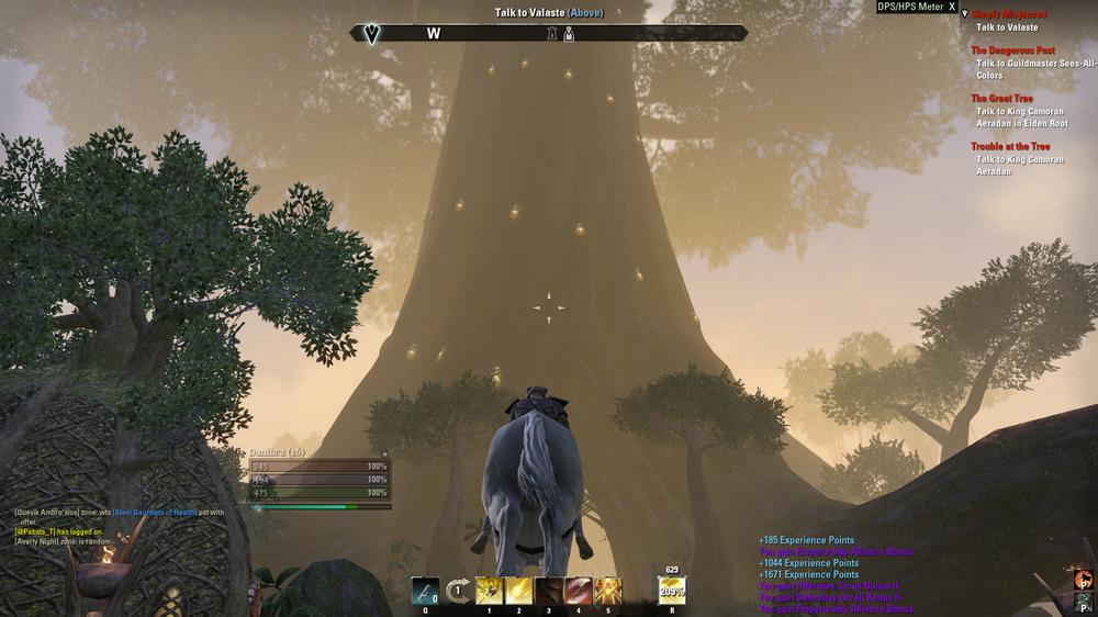 Blir nok ved av det treet der.