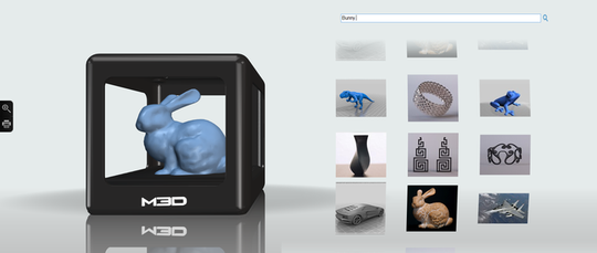 Slik skal figurene lages inne i Micro. Kaninen er nesten i største laget.