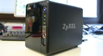 Test: Zyxel NSA325 v2