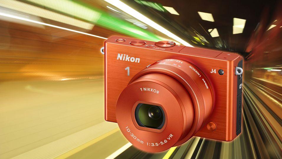 Ny Nikon er like kjapp som toppmodellen